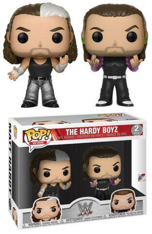 Figurine Funko Pop! - Wwe - Twin Pack S8 Hardy Boyz