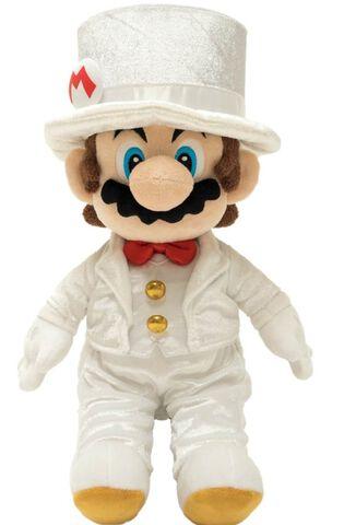 Peluche - Super Mario Odyssey - Mario Wedding 40 cm