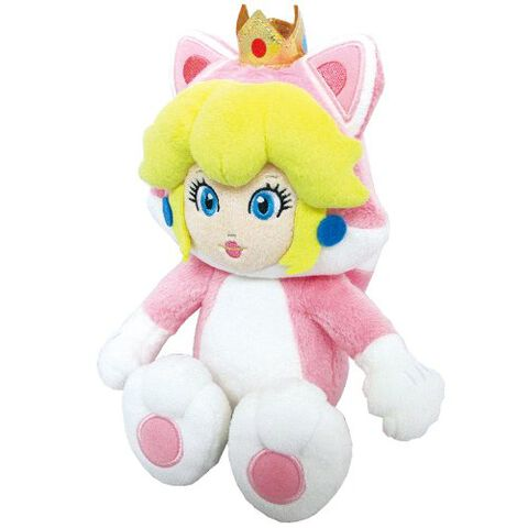 Peluche Chat Peach 25 cm