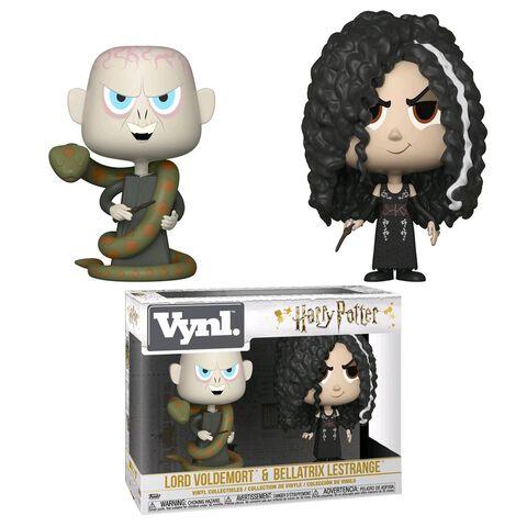 "Figurine Vynl - Harry Potter - Twin Pack Bellatrix et Voldemort 4"""