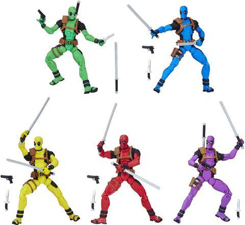 Figurines - Marvel Legends - Rainbow Squad Deadpool