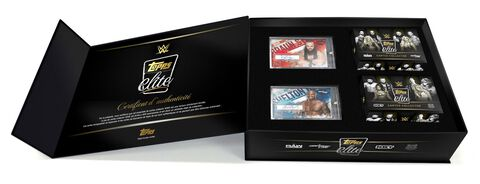 Coffret Collector - WWE - Cartes WWE Catch - Exclusivité Micromania-Zing