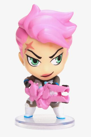 Figurine - Overwatch - Cute But Deadly Holiday Frosted Zarya