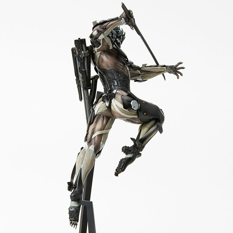 Figurine - Metal Gear Rising : Revengeance - Raiden MensHdge Technical Statue 25 cm