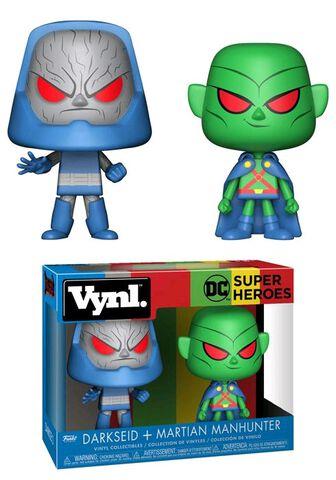 Figurine Vynl - DC Comics - Martian Manhunter / Darkseid