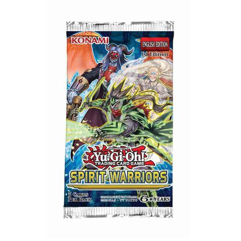 Booster - Yu-Gi-Oh! - Les Esprits Guerriers