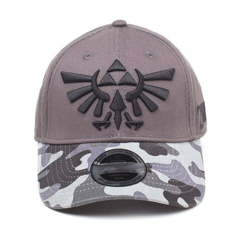 Casquette - Zelda - Tri-force Logo Camouflage Curved Bill