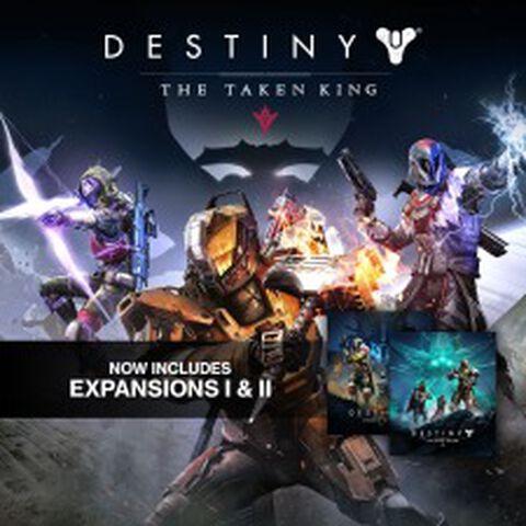 DLC - Destiny (DLC 1 + DLC 2 + Le Roi des Corrompus + Level 25) - PS3