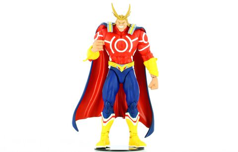 Figurine - My Hero Academia - All Might (red Suit)