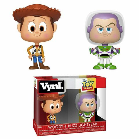 Figurine Vynl - Toy Story - Twin-pack Woody et Buzz
