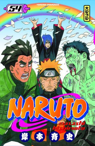 Manga - Naruto - Tome 54