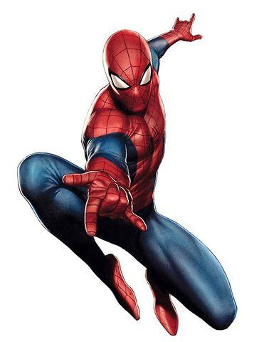 Sticker - Spider-Man - Spider-man - Taille réelle