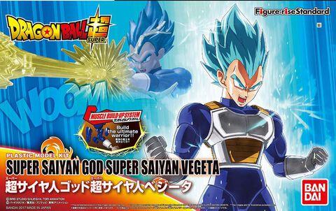 Figurine à monter Figure-rise - Dragon Ball Super - Vegeta Super Saiyan God