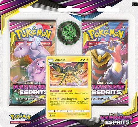 Pack 2 Boosters Pokémon Sl11 Harmonie Des Esprits