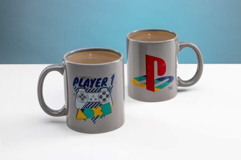 Mug - Playstation - Set 2 Mugs Player 1 et Player 2