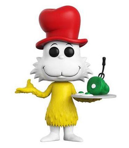 Figurine Funko Pop! N°05 - Dr. Seuss - Sam I Am Flocked - Exclusivité Micromania-Zing