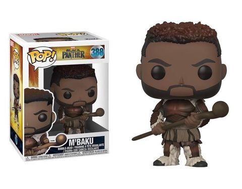 Figurine Funko Pop! N°388 - Black Panther - M'baku