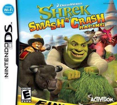 Shrek Smash'n Crash Racing