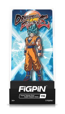 Figpin N°116 - Dragon Ball Z - Fighter Z Super Saiyan God Super Saiyan Goku