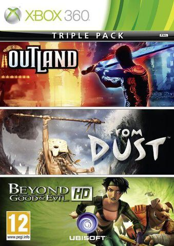 Triple Pack : Outland + From Dust + Beyond Good & Evil Hd