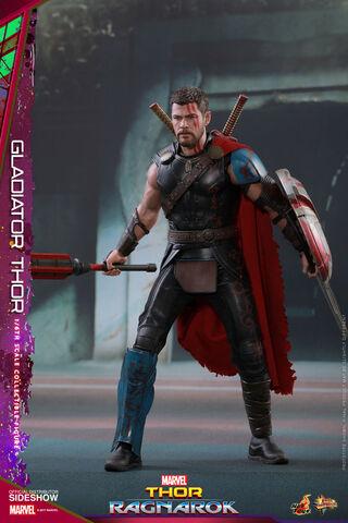 Statuette Hot Toys - Thor Ragnarok - Thor Gladiator - 1/6