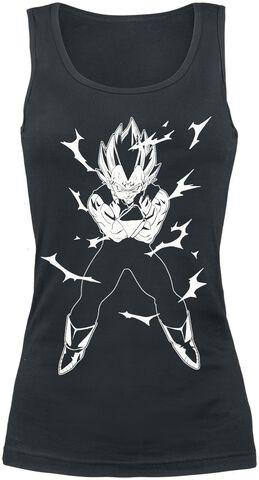 Débardeur - Dragon Ball - Femme Vegeta - Taille L
