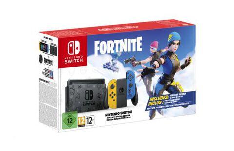 Nintendo Switch Fortnite Préinstallé Edition Speciale