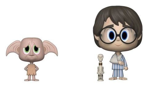 Figurine Vynl - Harry Potter - Harry et Dobby - 10 cm