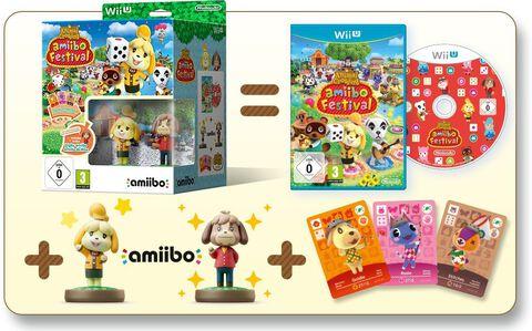Animal Crossing Amiibo Festival Edition Limitee