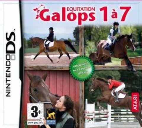 Equitation, Galops 1 à 7
