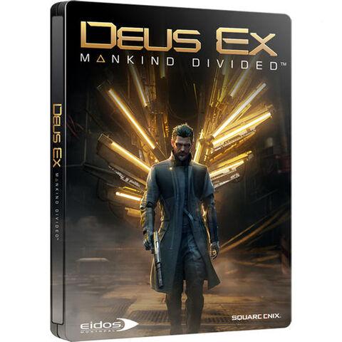 Deus Ex Mankind Divided Edition Steelbook