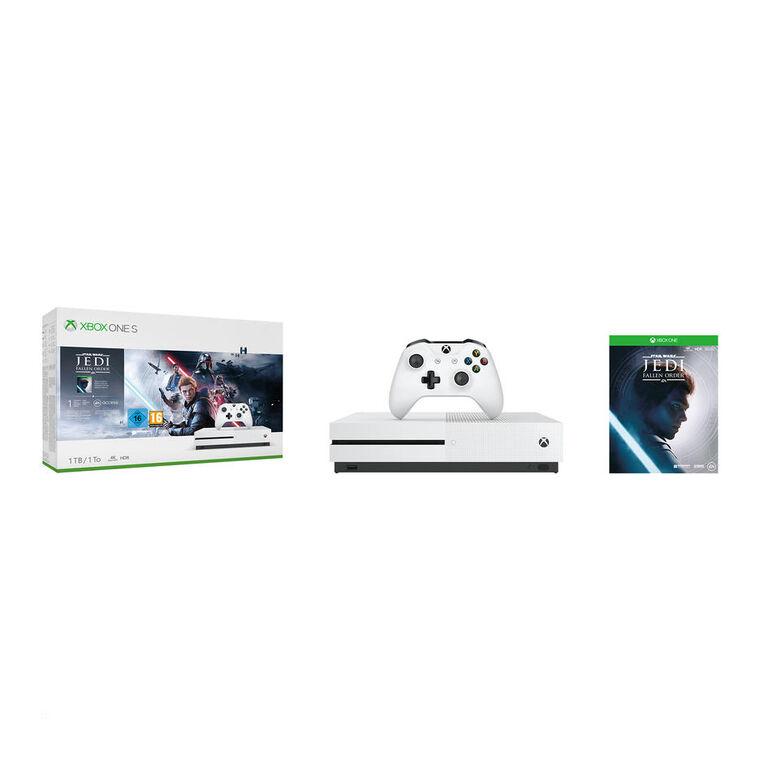 Pack Xbox One S 1to + Star Wars Jedi Fallen Order (voucher)