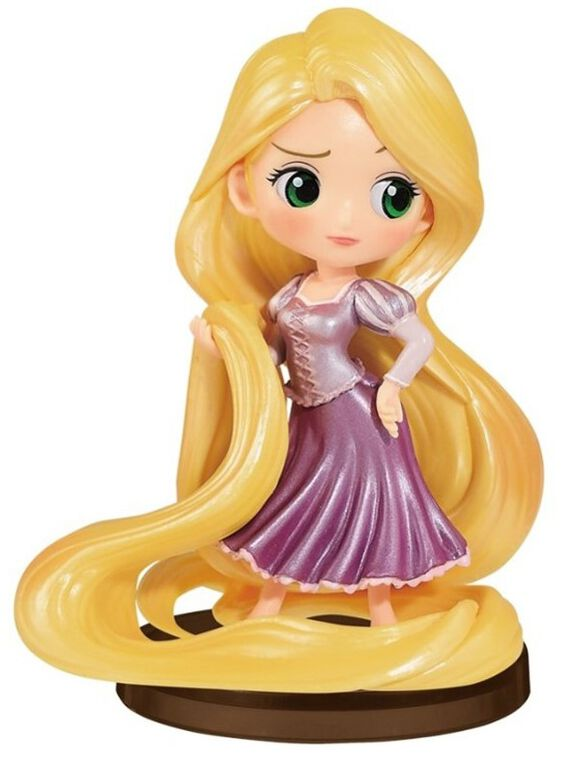 Figurine Q Posket - Disney - Petit-girls Festival Raiponce
