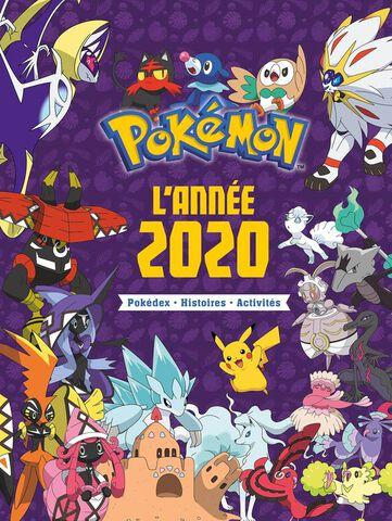 Livre L Annee Pokemon 2020