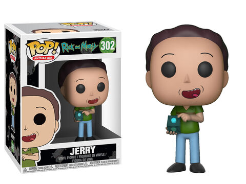 Figurine Funko Pop! N°302 - Rick et Morty S3 - Jerry