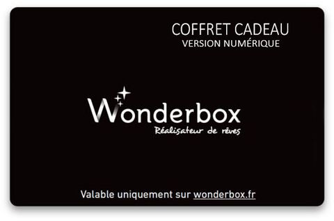 Carte Cadeau Wonderbox 20 euros - Offre PSN - Version numérique