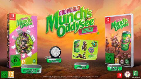 Oddworld Munch's Oddyssee Edition Limitée
