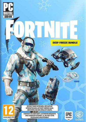 Fortnite Pack Froid Eternel Code In A Box Pc -