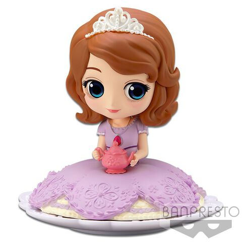 Figurine Q Posket Sugirly - Disney - Sofia Couleur Pastel