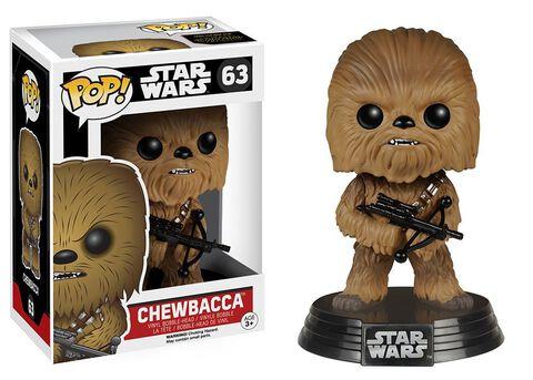 Figurine Funko Pop! N°63 - Star Wars Epvii - Chewbacca