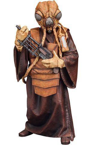 Statuette Kotobukiya - Star Wars - Bounty Hunter Zuckuss 17 cm