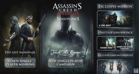 Season Pass Assassin's Creed Syndicate Xbox One
