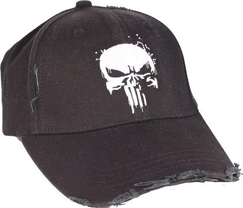 Casquette - Marvel - Grungy Rungy Punisher noir - Taille unique