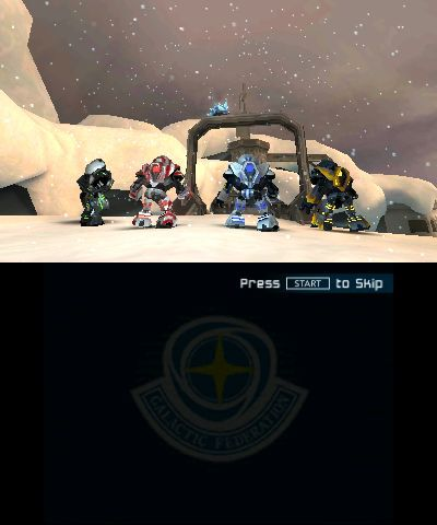 * Metroid Prime Federation Force