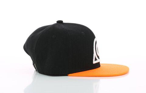 Casquette - Naruto Shippuden - Noir et orange Konoha