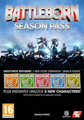 Battleborn- Season Pass - Version digitale