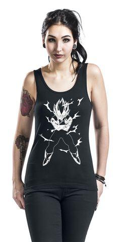 Debardeur - Dragon Ball - Femme Vegeta Taille L