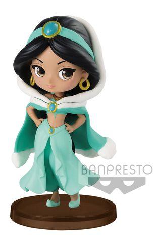 Figurine Q Posket Petit - Aladdin - Jasmine costume d'hiver