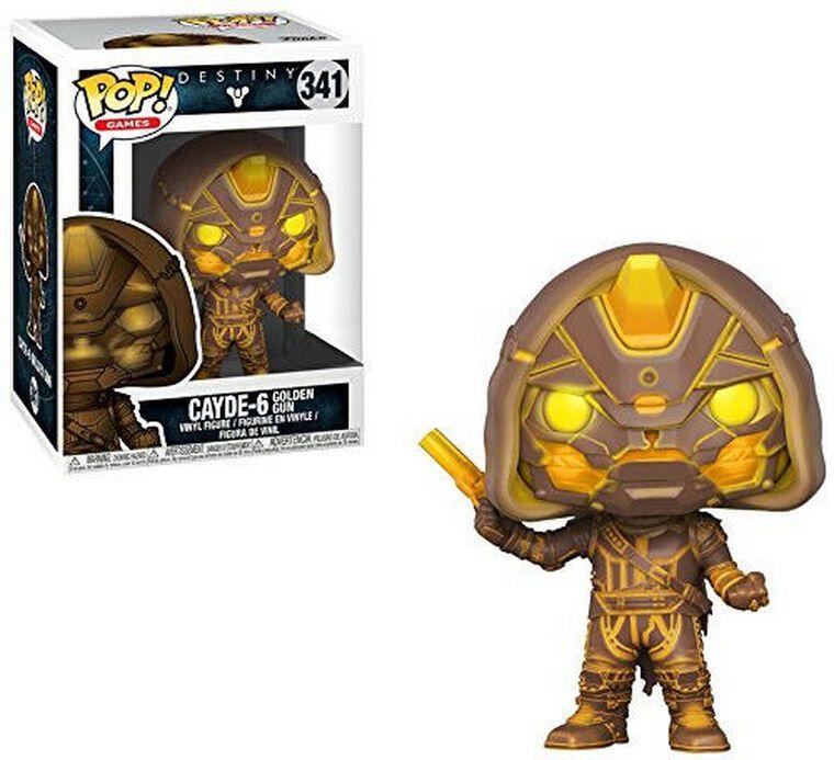 Figurine Funko Pop! N°341 - Destiny - Série 2 Cayde - 6 avec pistolet d'or