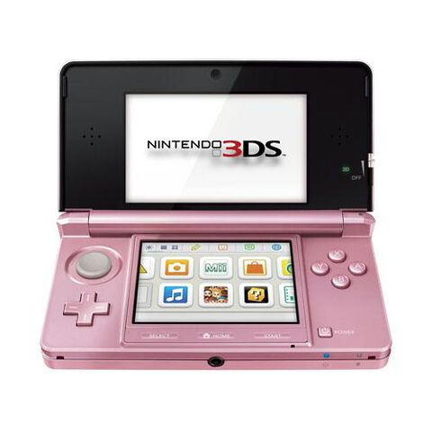 Nintendo 3DS Rose Corail